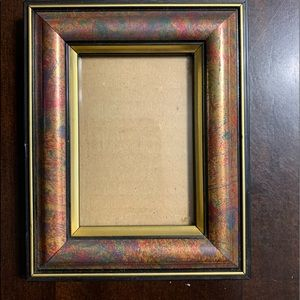 Other - Marbled effect picture frame
